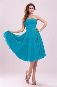 teal simple a line sleeveless backless pleated wedding With teal dresses for wedding guest