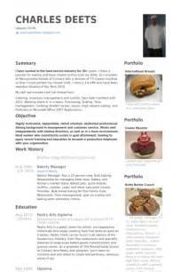 sle resume for bakery clerk deli description resume