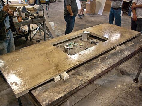concrete countertop sealer applying surecrete xs pc12 polyurea concrete sealer