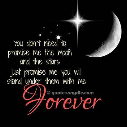 Quotes Stars Sayings Promise Moon Heart Super