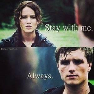 Hunger games Quote / Katniss / Peeta / Catching Fire ...