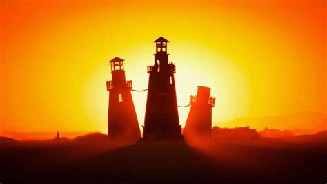 wallpaper lighthouses burning man nevada