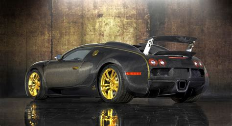 Mansory bugatti veyron linea d'oro and vincero are iconic customs. BUGATTI VEYRON MANSORY LINEA VINCERO' D'ORO