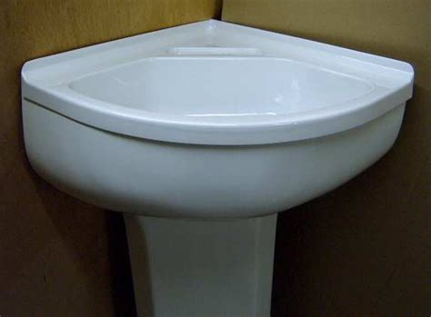 corner sink pedestal