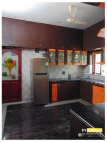 interior decoration in kitchen kerala kitchen designs idea in modular style for house in india