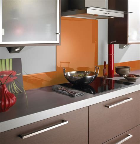 ideas for kitchen splashbacks there 39 s nothing like a pop of orange to liven up a kitchen