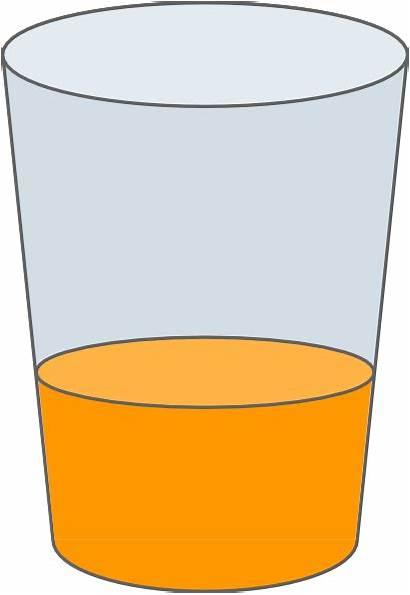 Juice Clipart Glass Orange Clip Vector Gelas