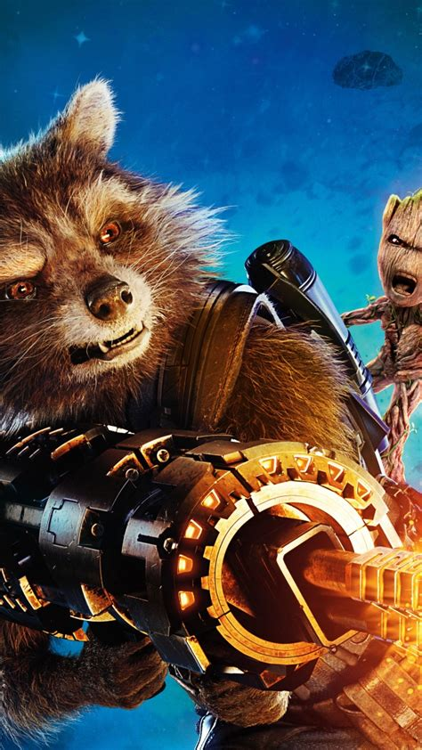Baby Groot And Rocket Wallpaper Wwwpixsharkcom