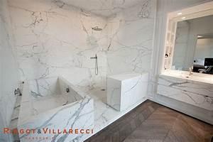 Salle De Bain Marbre Blanc : ringot villarecci salles de bainringot villarecci ~ Nature-et-papiers.com Idées de Décoration