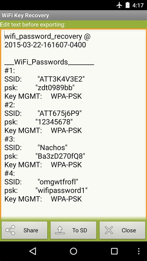 how to see saved wifi password on android how to see passwords for wi fi networks you ve connected