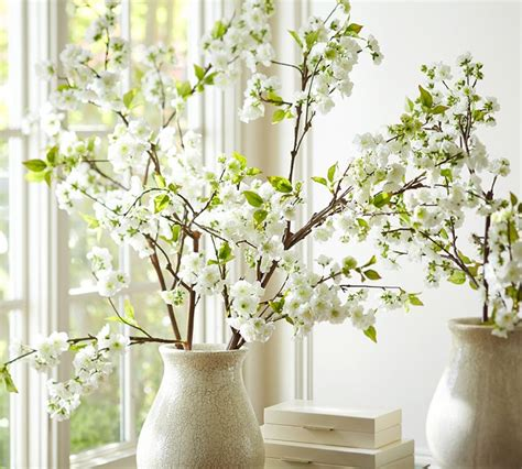 beautiful faux botanicals  spring