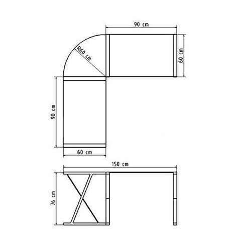 dimension bureau bureau d 39 angle en verre noir bureau informatique design