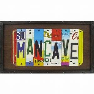 man cave for the home pinterest With open road brands license plate letters