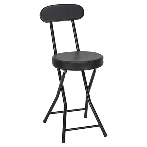 Padded Folding Dining Room Chairs by Black Padded Folding Chair