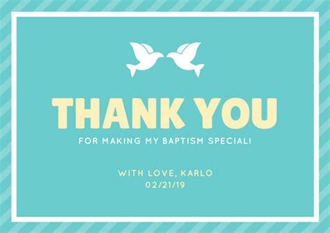 customize  christening   card templates