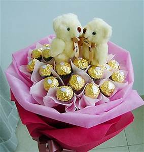 Filipinas Gifts | Ferrero Rocher Bear Bouquet