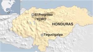 Progreso Honduras Map