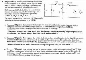 Solved  This Diagram Shows The Circuit In An Electric Toas