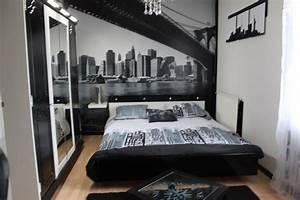 deco chambre facon new york With deco new york pour chambre
