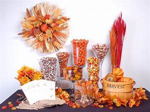A Fall Candy Buffet Perfect for Any Occasion