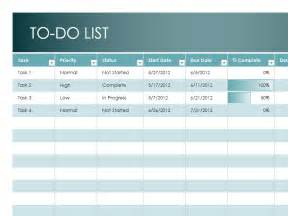 To Do Template Excel Monthly To Do List Template Sle Format