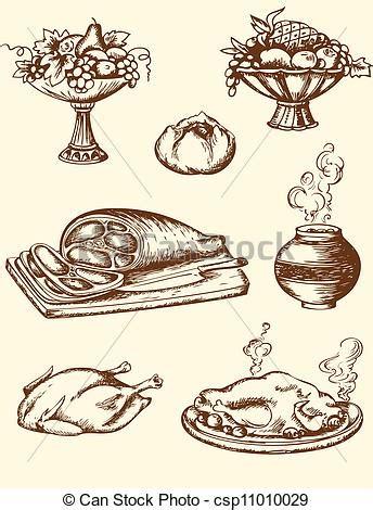 vintage cuisine vintage food clipart clipartxtras