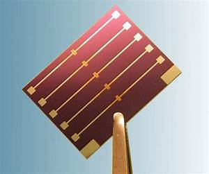 Prefabricated Ofet Test Chips  Low Density   U2013 Ossila