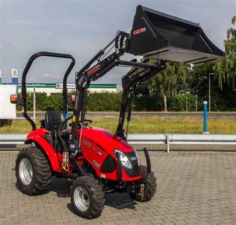 traktor mit frontlader kaufen tym traktor t273 hst mit frontlader kommunaltraktoren kleintraktoren kompakttraktoren