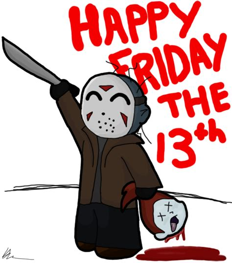 friday 13th clipart happy friday the 13th