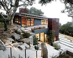 stunning homes built into hillside unique houses on sloping ground hillside homes idea