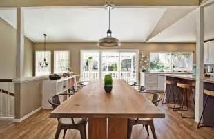 kitchen table ideas rustic modern kitchen decor decoist