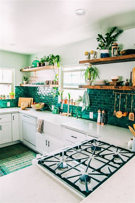 gold kitchen faucet what s on 6 boho home decor