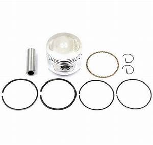 47mm Honda Crf70 Jh70 Gy6 80cc Piston Kit Rings Set