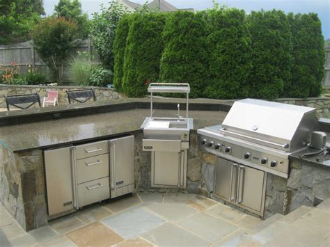 outdoor kitchens built in grills traditional patio
