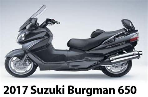 Suzuki 650 Burgman by Motorcycle Sport 2017 Suzuki Burgman 650 Abs New Features