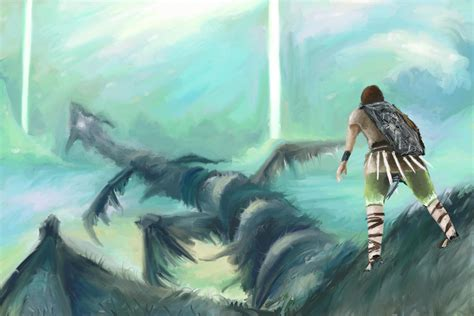 Whach Your Step Shadow Of The Colossus Fan Art 8894607