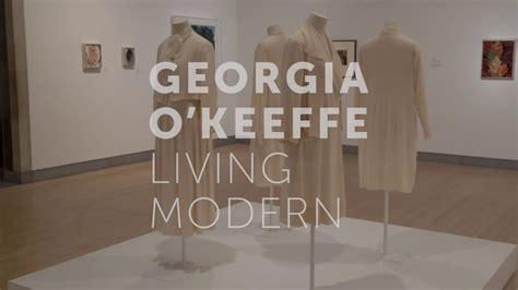 Georgia O'Keeffe: Living Modern - YouTube