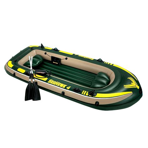 Inflatable Pool Boat With Oars by Intex Inflatable Boat For 4 People Oars Insportline Eu