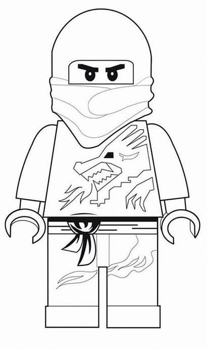 Coloring Ninja Attractive Activity Lego Ninjago