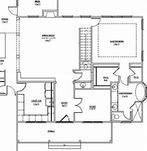 Staircase Floor Plan - Home Design