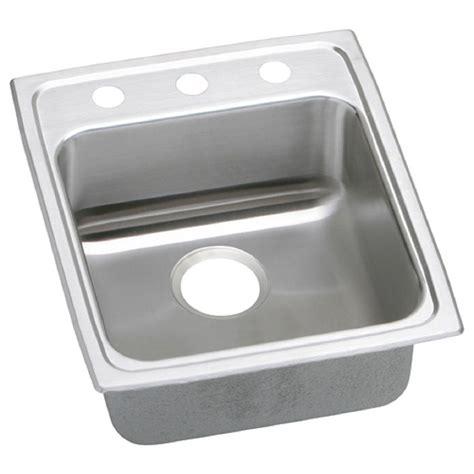 14 stainless steel kitchen sink elkay lustertone undermount stainless steel 14 in single 8964