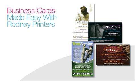 business cards rodney printers