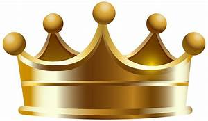 Gold Crown Clipart No Background - ClipartXtras