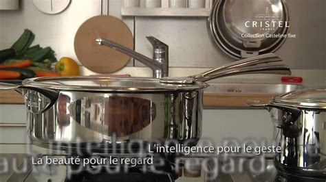 batterie de cuisine cristel batterie de cuisine induction de la collection casteline