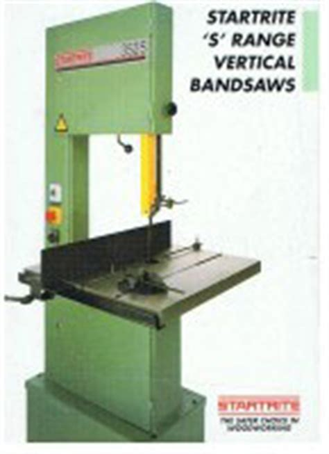 gb servicing startrite bandsaw horizontal verticalrobland tilt arbor sawbench bandsaw