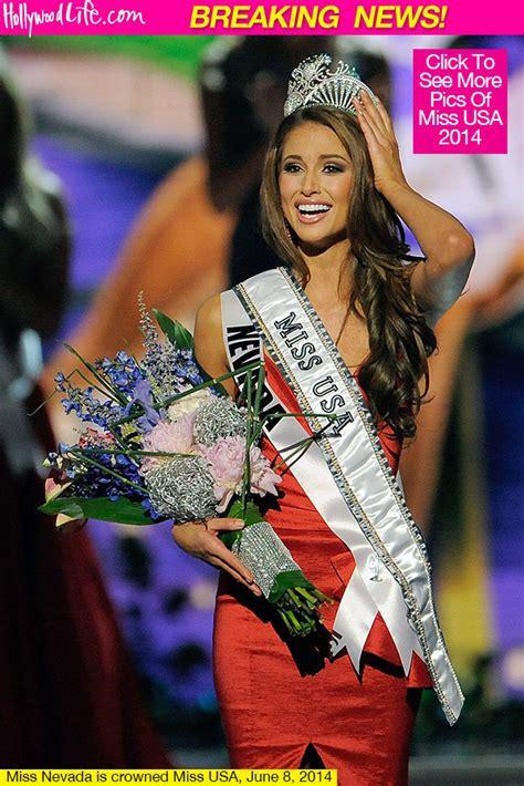 miss usa 2014 winner — nia sanchez miss nevada wins the