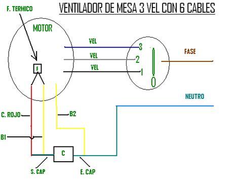 solucionado ventilador 3 velocidades 6 cables yoreparo