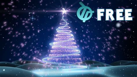 wallpaper christmas animations free free tree background animation