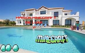 Video De Minecraft Maison : minecraft maison de luxe youtube ~ Zukunftsfamilie.com Idées de Décoration