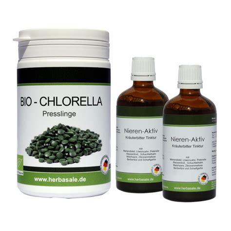 Nieren & Blasen Intensivkur 2 X 50ml Plus 200g Chlorella
